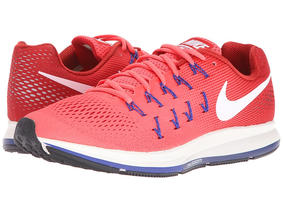 Nike - Air Zoom Pegasus 33 (Ember Glow/Gym Red/Loyal Blue/White) Men's Running Shoes