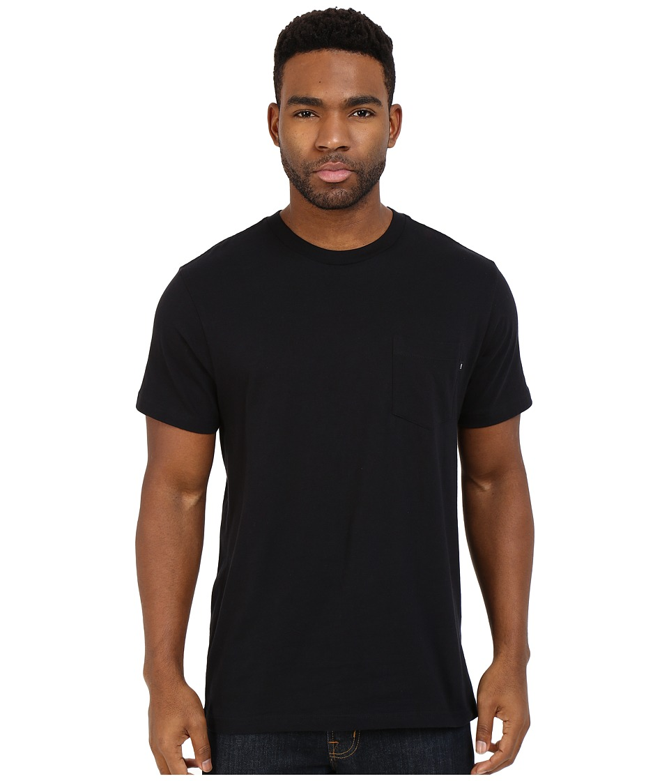 Obey - Premium Basic Pocket Tee (Black) Men's Short Sleeve Pullover