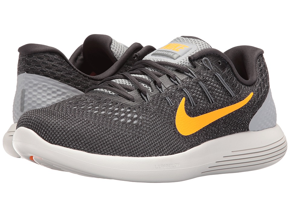 Nike - Lunarglide 8 (Wolf Grey/Anthracite/Cool Grey/Bright Citrus) Men's Running Shoes