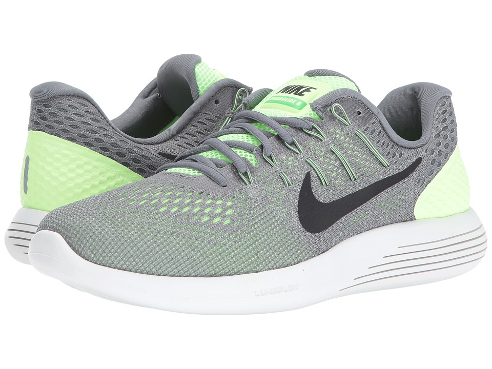 Nike - Lunarglide 8 (Ghost Green/Cool Grey/Pure Platinum/Black) Men's Running Shoes