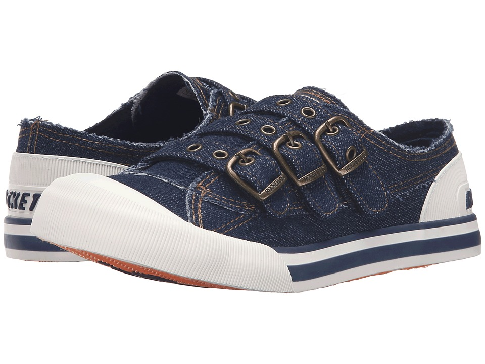 Rocket Dog - Jolissa (Blue Debs Denim) Women's Lace up casual Shoes