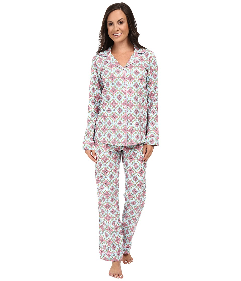 BedHead - Long Sleeve Classic Bottom Pajama Set (Rock the Casbah) Women's Pajama Sets