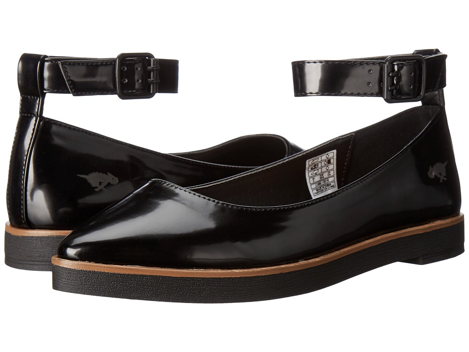 Rocket Dog - Lipton (Black Boxed IN) Women's Flat Shoes