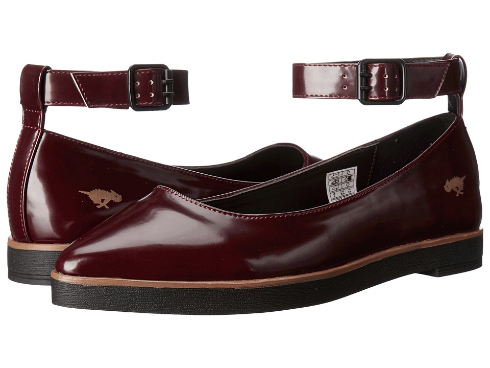 Rocket Dog - Lipton (Burgundy Boxed In) Women's Flat Shoes