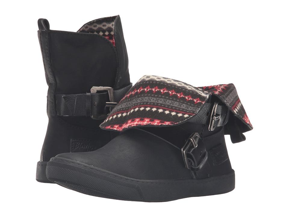 Blowfish Kids - Pembe-K (Little Kid/Big Kid) (Black Texas PU/Dyecut PU) Girl's Shoes