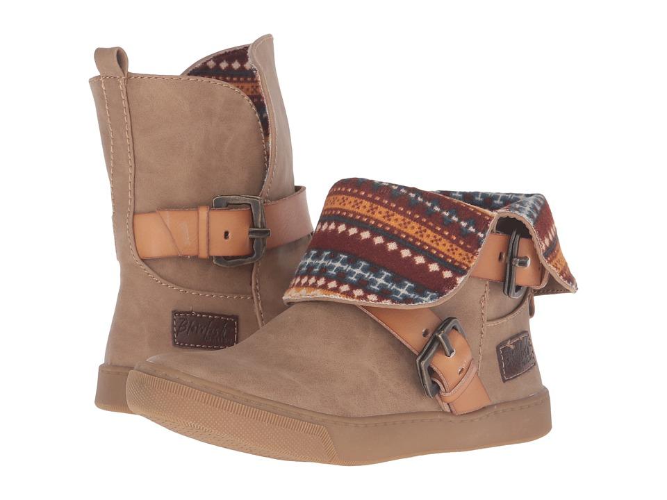 Blowfish Kids - Pembe-K (Little Kid/Big Kid) (Sand Texas PU/Desert Sand Dyecut PU) Girl's Shoes