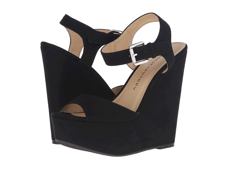 Chinese Laundry Jollypop (Black Micro Suede) Women
