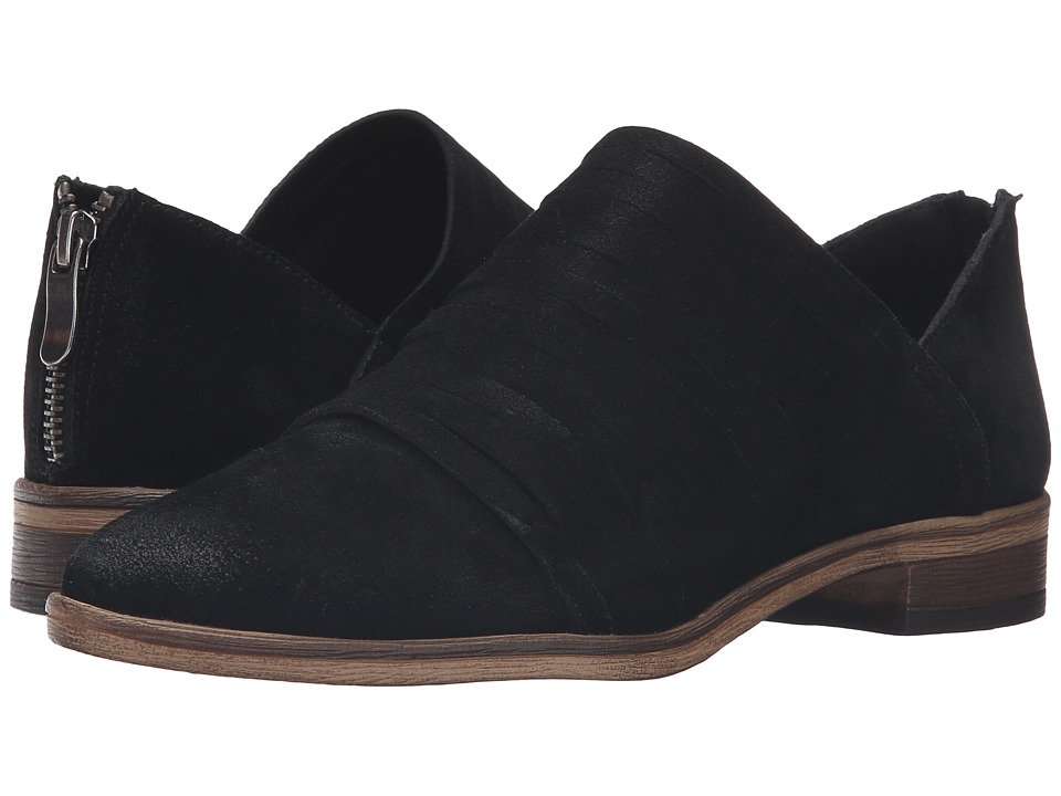 Chinese Laundry - Danika (Black Suede) Women's Slip on Shoes