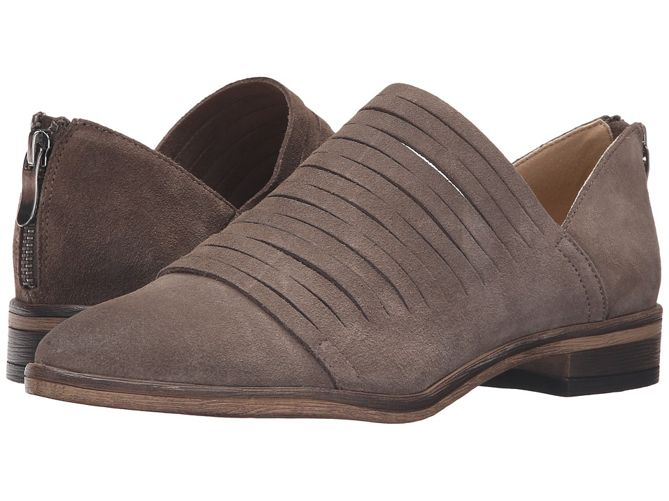 Chinese Laundry Danika Taupe Suede Womens Slip on  Shoes