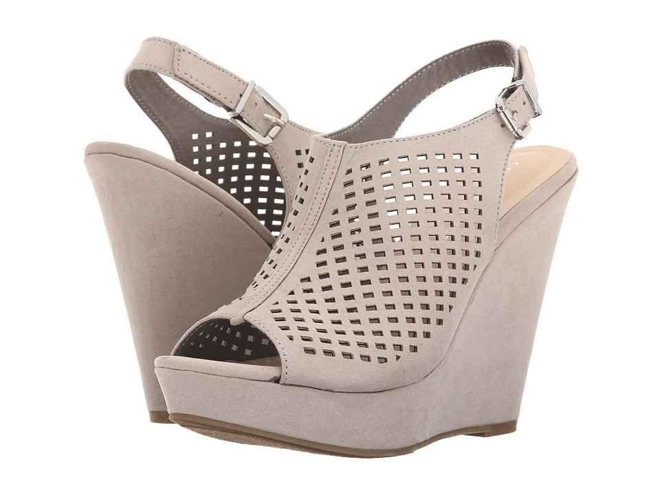 Chinese Laundry - Magical (Smoke Grey Micro Suede) Women's Wedge Shoes