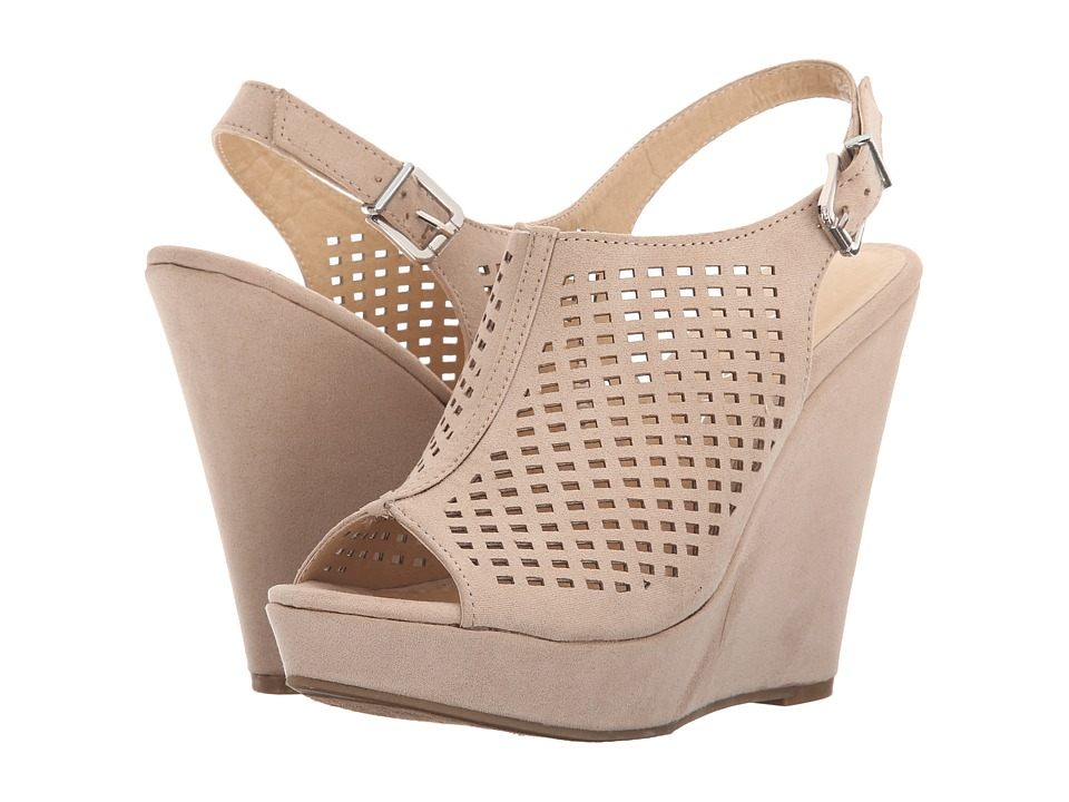 Chinese Laundry - Magical (Sand Micro Suede) Women's Wedge Shoes