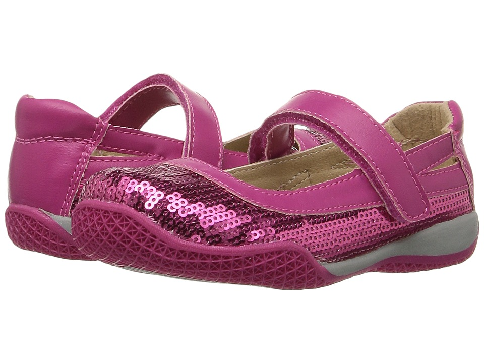 W6YZ - Kathy (Toddler/Little Kid) (Fuchsia) Girls Shoes