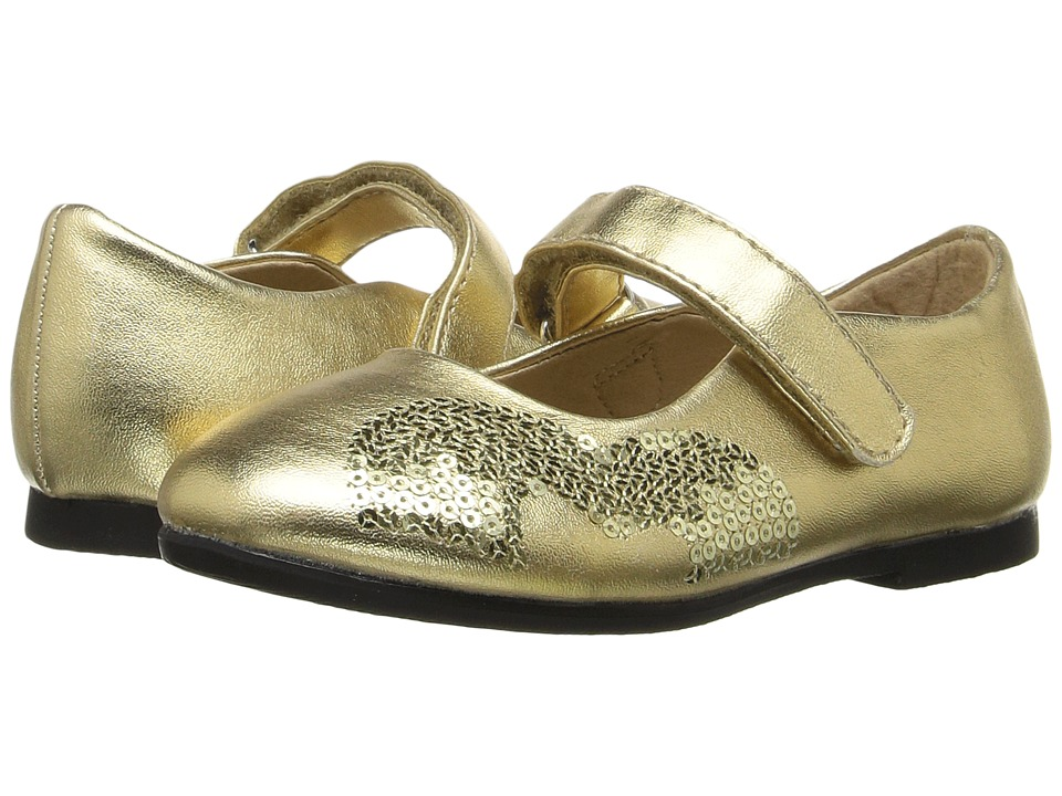 W6YZ Shea (Toddler/Little Kid) (Gold) Girls Shoes