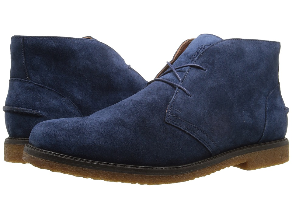 Polo Ralph Lauren - Marlow (Dark Blue Suede) Men's Shoes