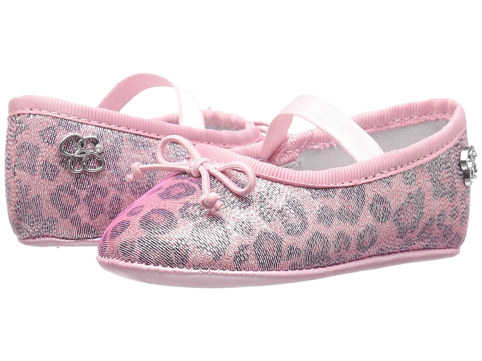 Jessica Simpson Kids - Elsie (Infant/Toddler) (Pink Leopard) Girl's Shoes