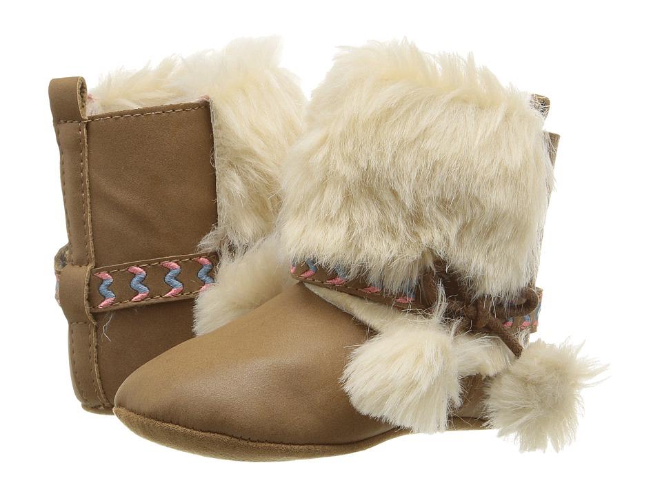 Jessica Simpson Kids - Marci (Infant/Toddler) (Tan PU/Fur) Girls Shoes