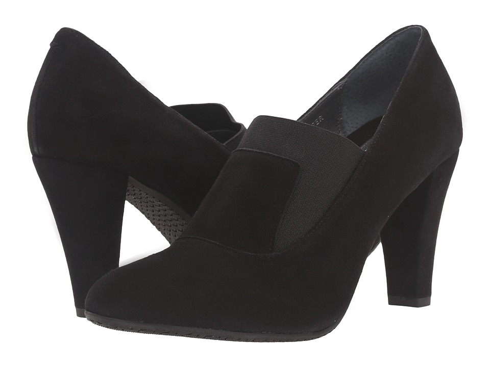 Eric Michael - Jill (Black) Women's Slide Shoes