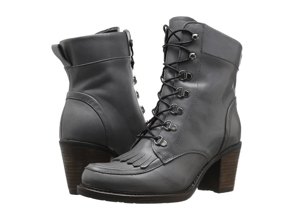 Eric Michael - Oregon (Grey) Women's Lace-up Boots