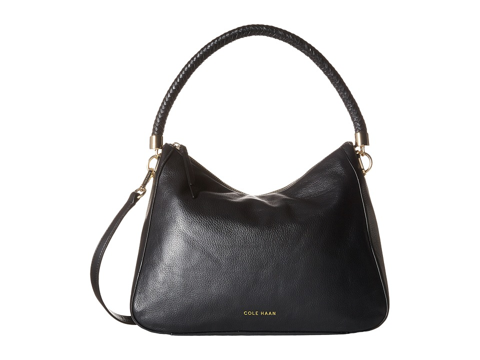 Cole Haan - Benson Mini Hobo Crossbody (Black) Cross Body Handbags