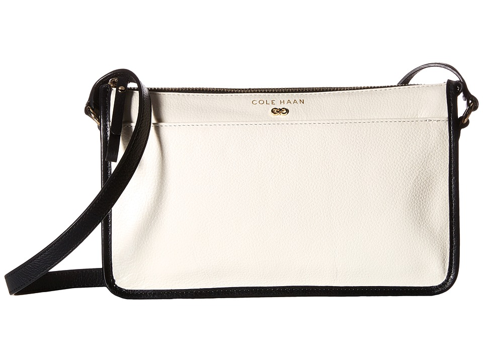 Cole Haan - Beckett Crossbody II (Ivory/Black) Cross Body Handbags