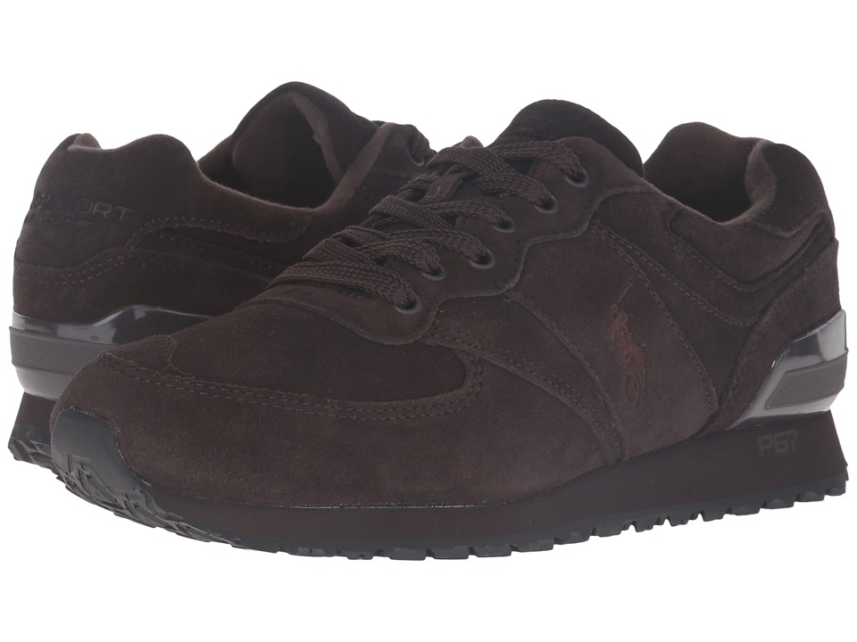 Polo Ralph Lauren Slaton Pony (Dark Brown Sport Suede) Men
