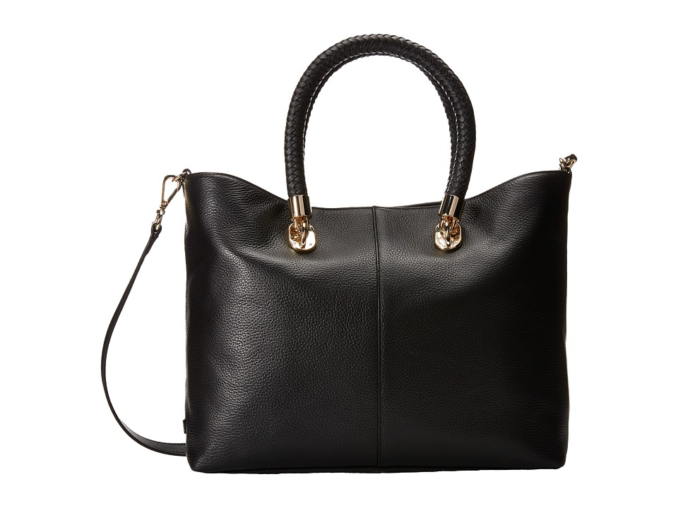 Cole Haan - Benson Small Crossbody Tote (Black) Tote Handbags