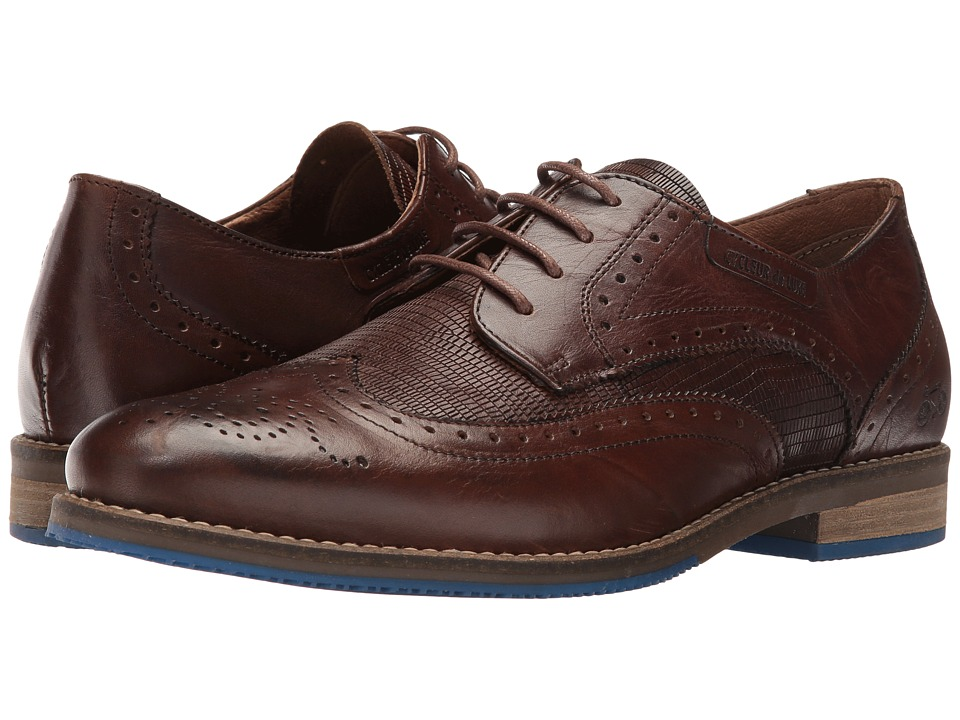Cycleur de Luxe - Semnoz (Dark Cognac) Men's Shoes