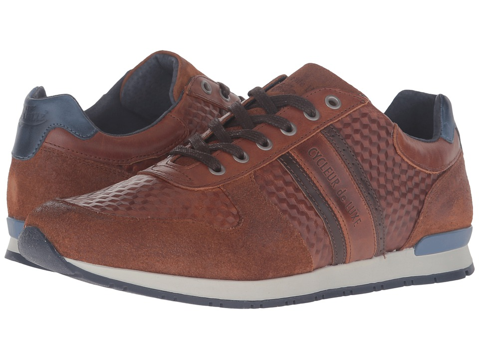 Cycleur de Luxe - New San Remo (Coffee/Cognac/Indigo) Men's Shoes