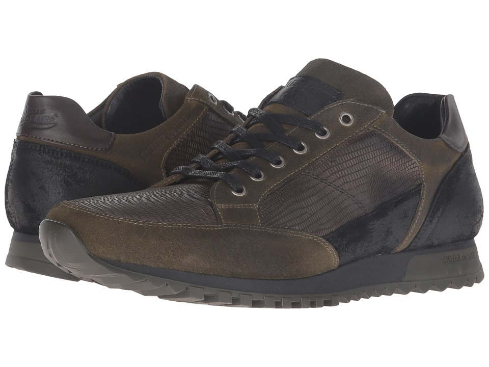 Cycleur de Luxe - Crossover (Military Green/Black/Coffee) Men's Shoes