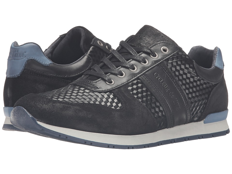 Cycleur de Luxe - New San Remo (Black/Indigo) Men's Shoes