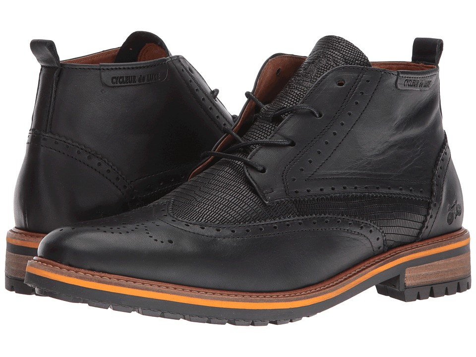 Cycleur de Luxe - New Annecy (Black) Men's Shoes