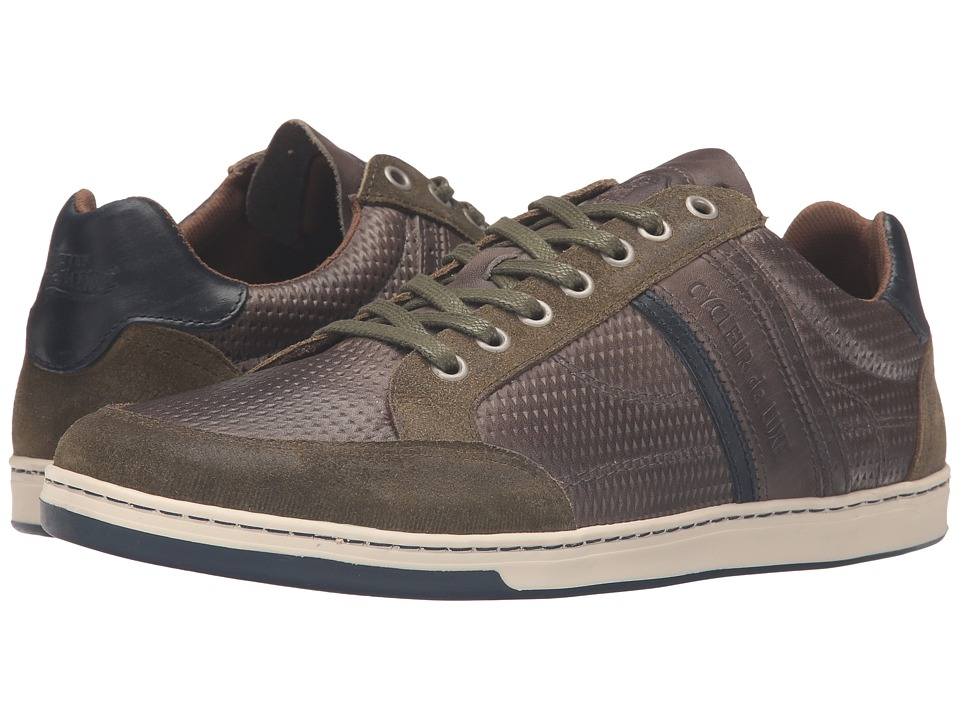 Cycleur de Luxe - Preston (Military Green/Anthracite/Navy) Men's Shoes