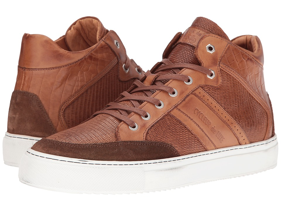 Cycleur de Luxe - Hurley (Dark Cognac) Men's Shoes