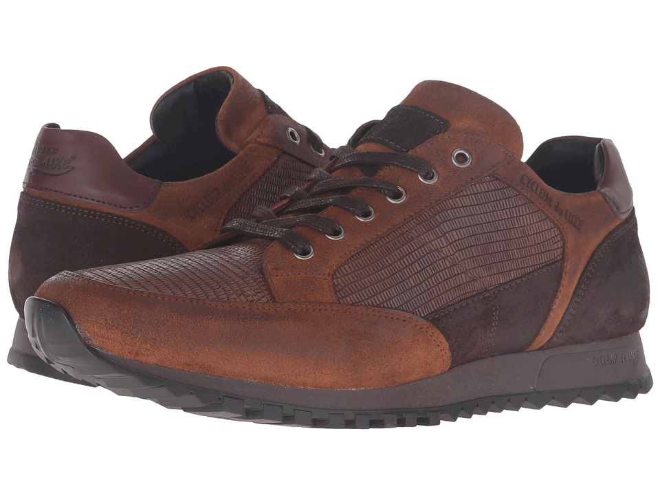 Cycleur de Luxe Crossover (Dark Cognac/Coffee/Burgundy) Men