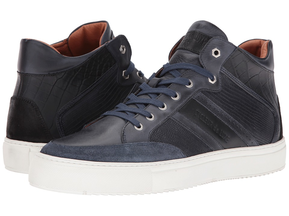 Cycleur de Luxe - Hurley (Steel Blue/Black) Men's Shoes