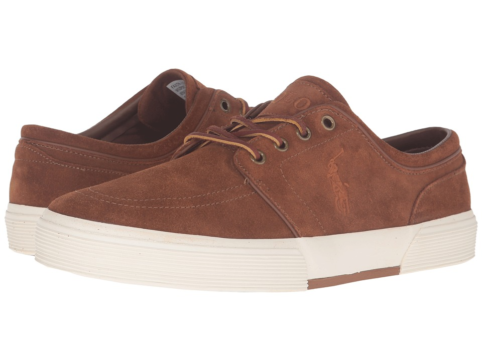 Polo Ralph Lauren - Faxon Low (New Snuff Sport Suede) Men's Lace up casual Shoes