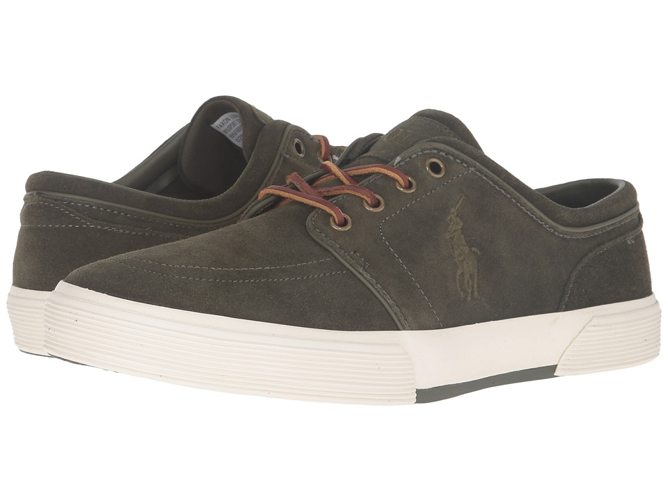 Polo Ralph Lauren Faxon Low Loden Sport Suede Mens Lace up casual Shoes