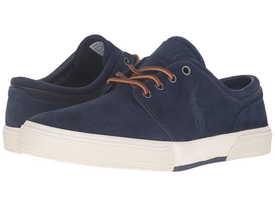 Polo Ralph Lauren - Faxon Low (Newport Navy Sport Suede) Men's Lace up casual Shoes