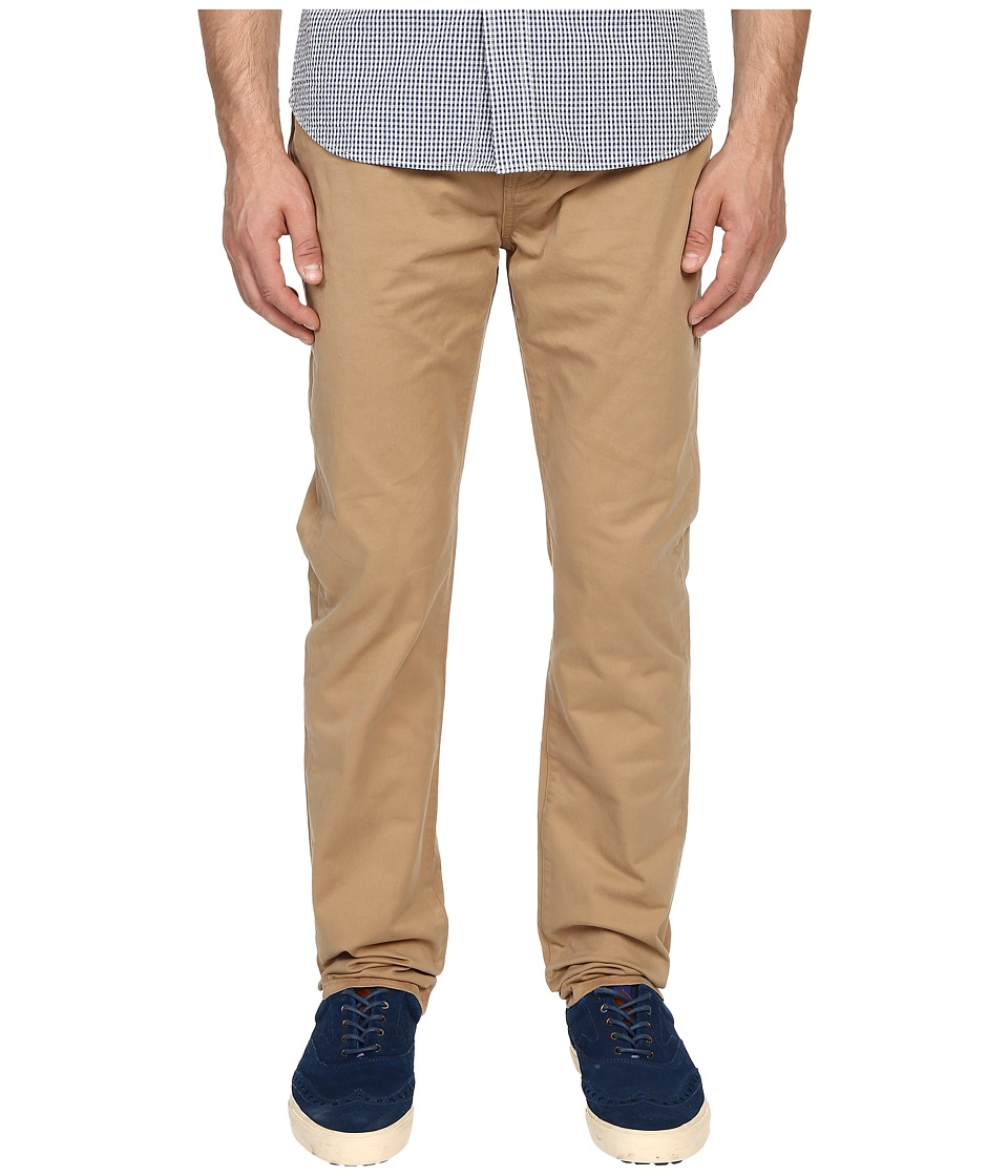 Jack Spade - Stonehill Slim Fit Five-Pocket Trousers (Dark Khaki) Men's Casual Pants