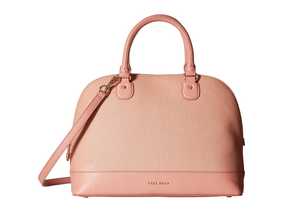 Cole Haan - Milena Large Satchel (Peony) Satchel Handbags