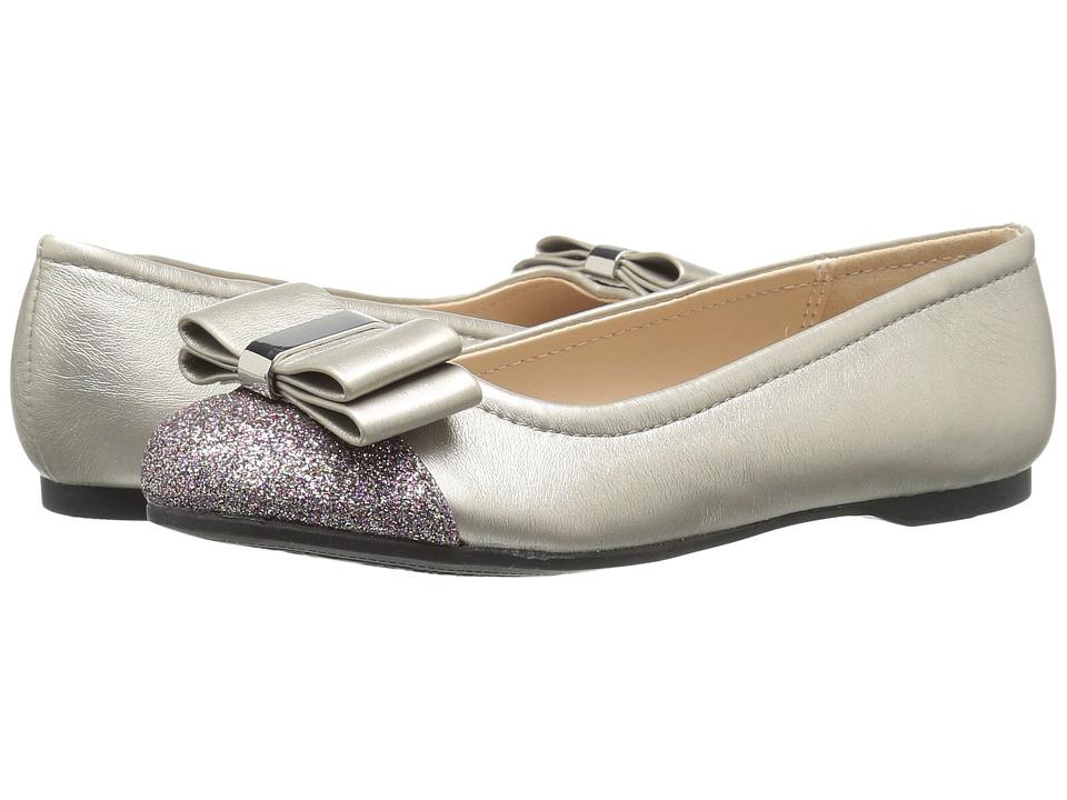 Jessica Simpson Kids - Portia (Little Kid/Big Kid) (Silver Metallic PU) Girl's Shoes