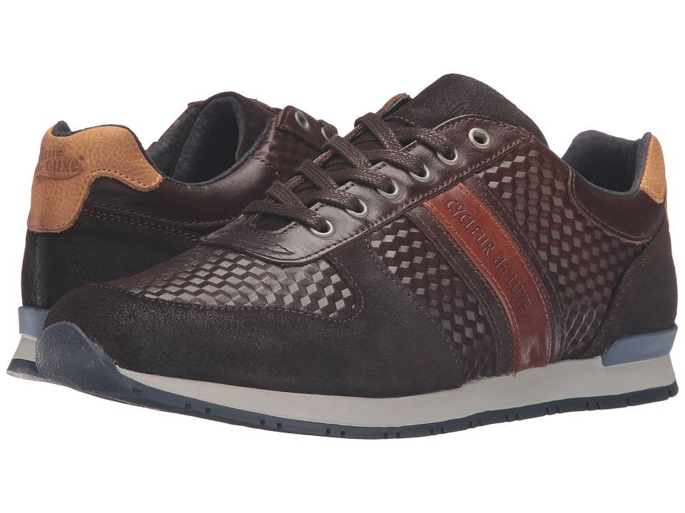 Cycleur de Luxe - New San Remo (Coffee/Cognac/Indigo 1) Men's Shoes