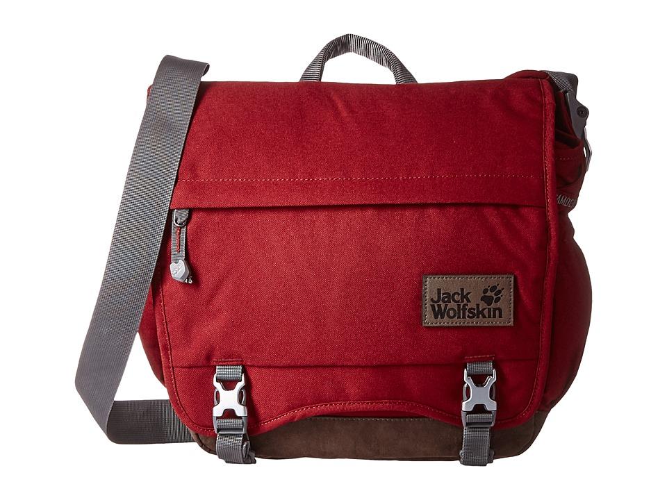Jack Wolfskin - Camden Town (Dried Tomato) Messenger Bags