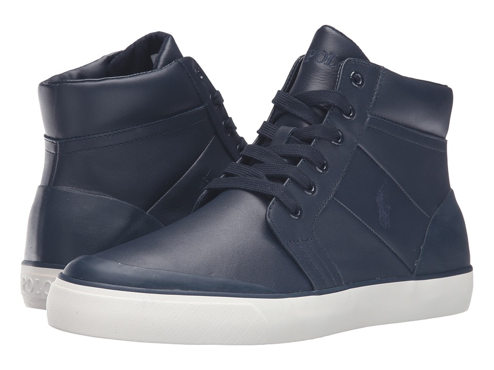 Polo Ralph Lauren Isaak (Newport Navy Smooth Sport Leather) Men