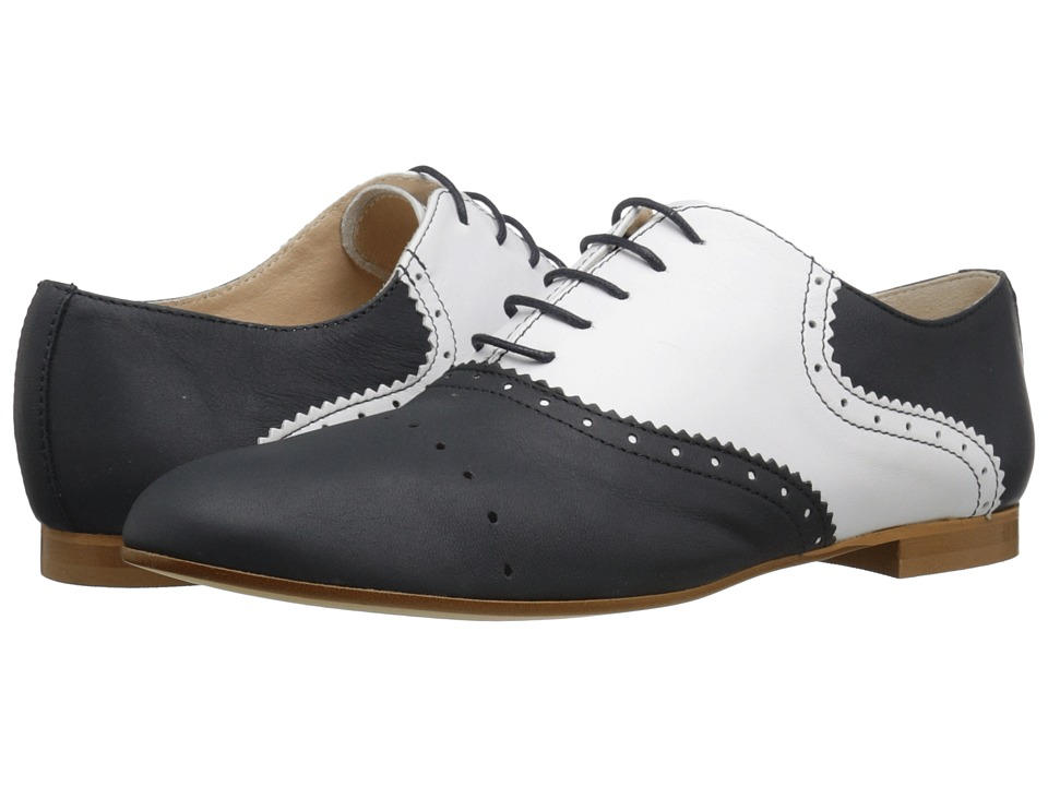 Massimo Matteo - Two-Tone Oxford (Blue/Blanco) Women's Lace up casual Shoes