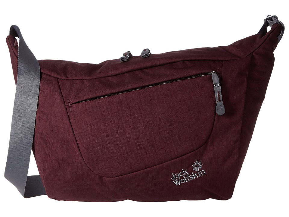 Jack Wolfskin - Belmore 12 (Dark Berry) Backpack Bags