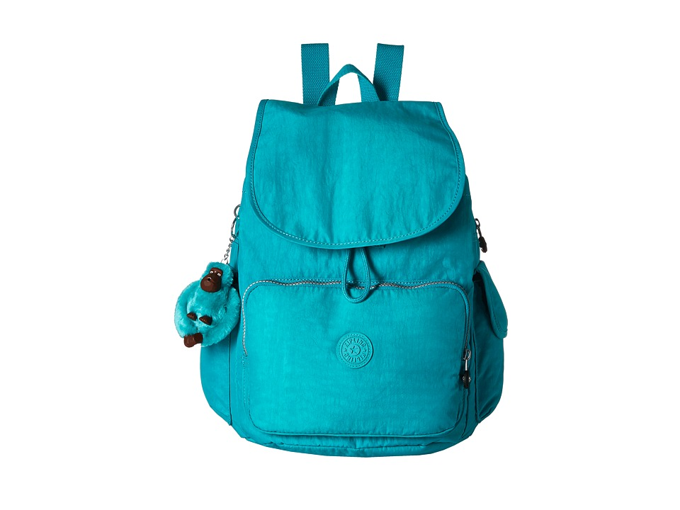 Kipling - Ravier Backpack (True Blue) Backpack Bags