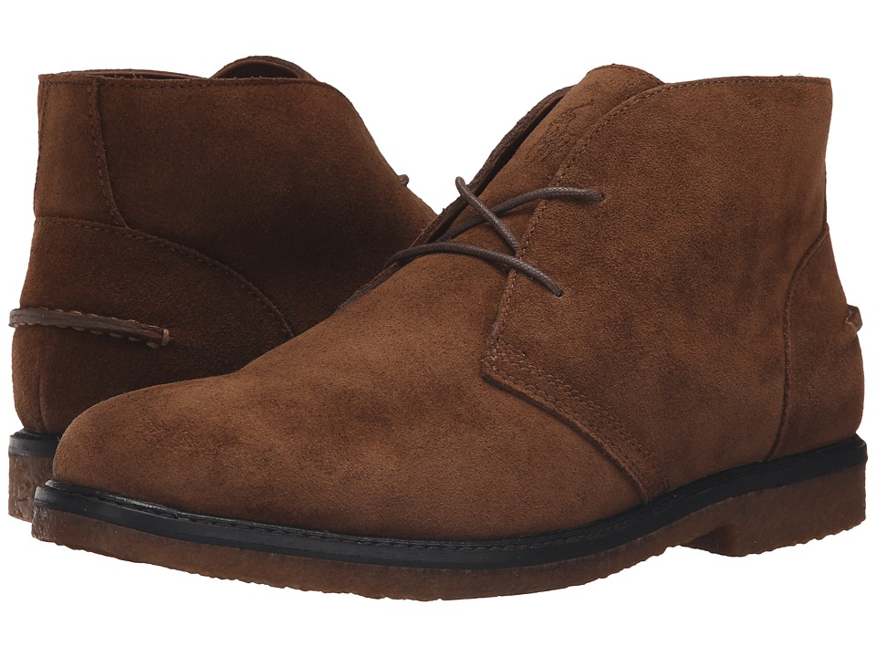Polo Ralph Lauren - Marlow (Dark Snuff Suede) Men's Shoes