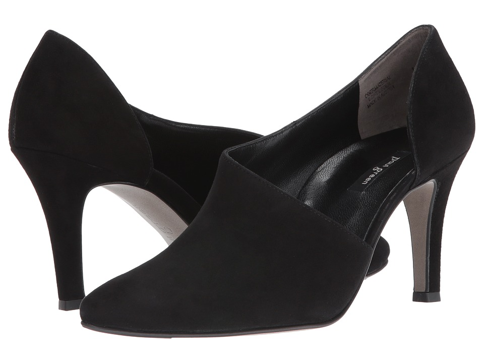 Paul Green - Jazz (Black Suede) High Heels