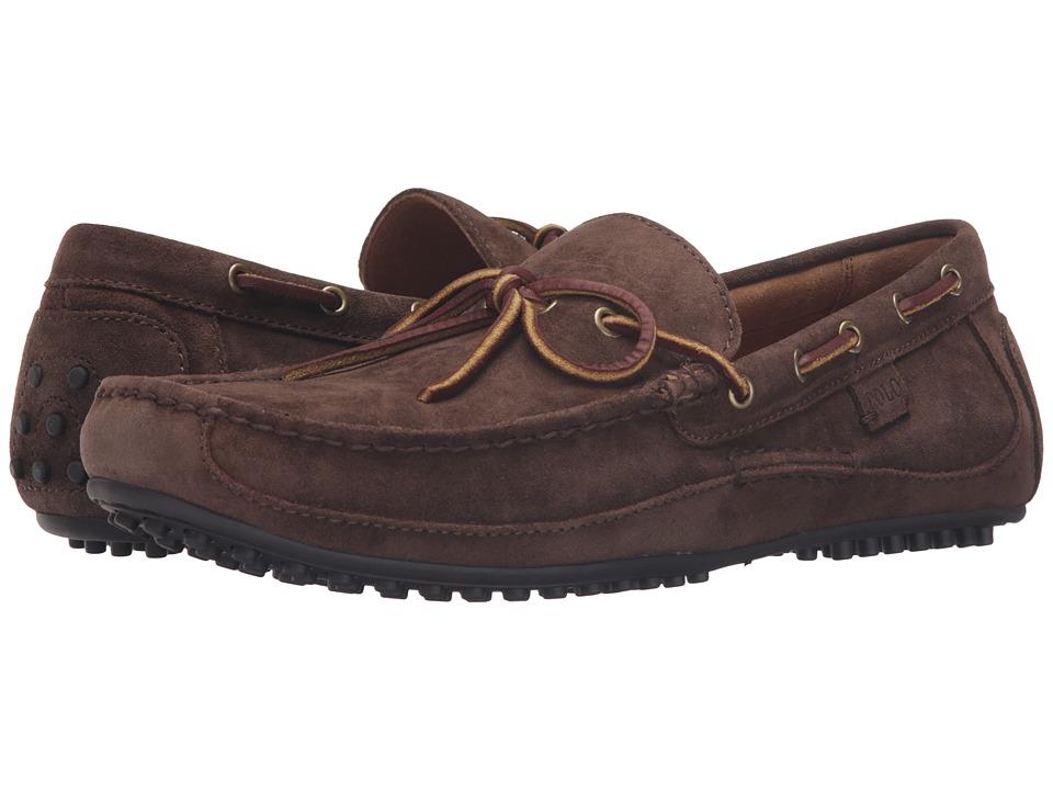 Polo Ralph Lauren - Wyndings (Brown Suede) Men's Shoes